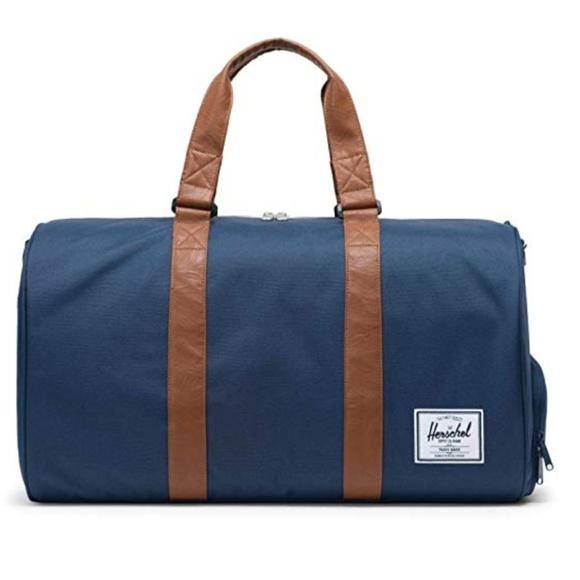 Herschel Novel Duffle Bag in Navy Blue